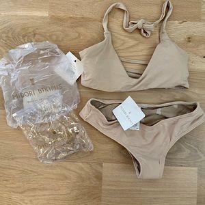 Midori bikini Croatia top with Brayden bottom
